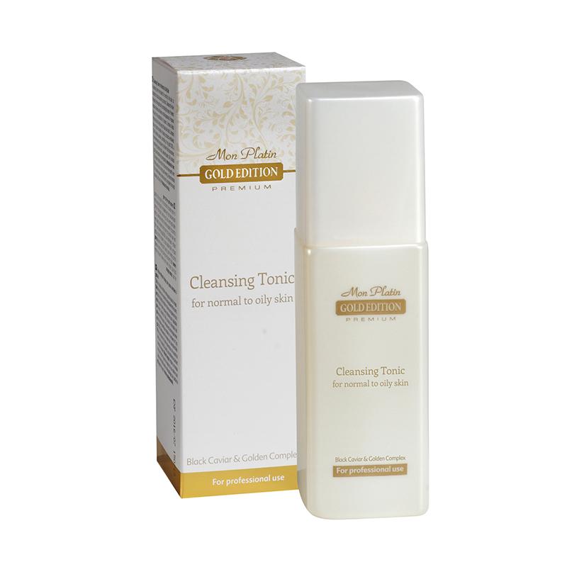 Лосьон для лица, обогащенный экстрактом черной икры для нормальной и жирной кожи Gold Edition Premium