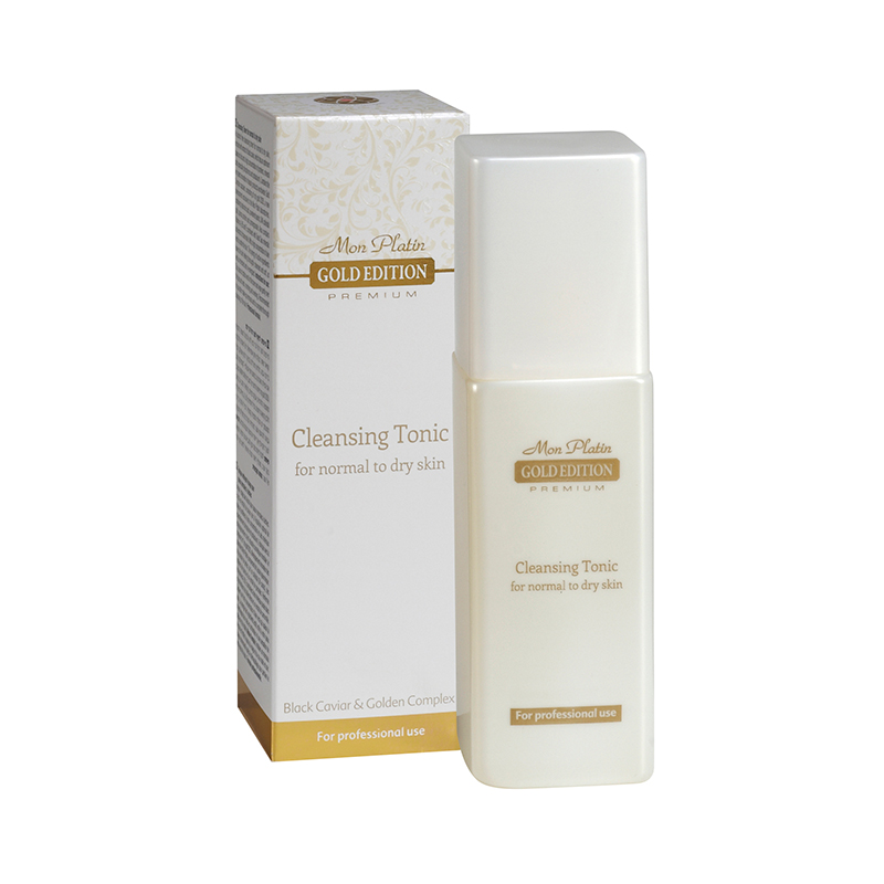 Лосьон для лица, обогащенный экстрактом черной икры для сухой и нормальной кожи Gold Edition Premium