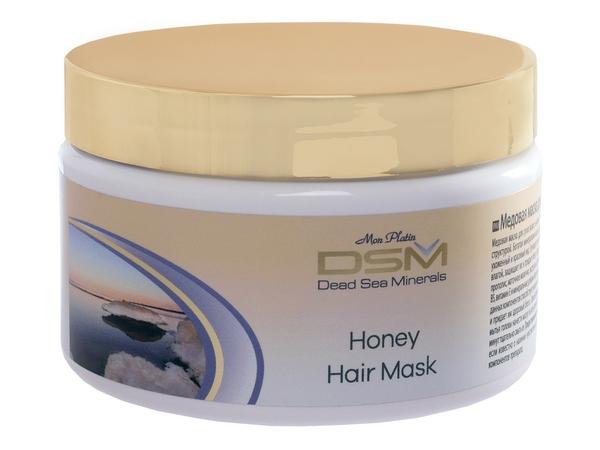 Медовая маска для сухих и повреждённых волос