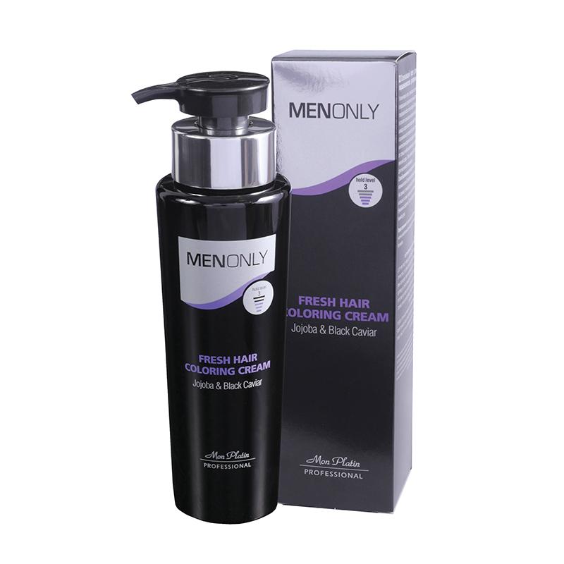Освежающий крем для окрашивания волос для мужчин