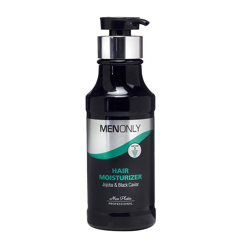 Увлажняющий крем для волос для мужчин на основе черной икры и жожоба