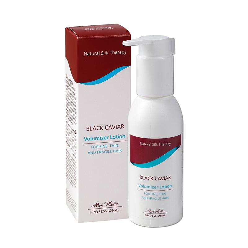 Крем с экстрактом черной икры для придания пышности тонким волосам