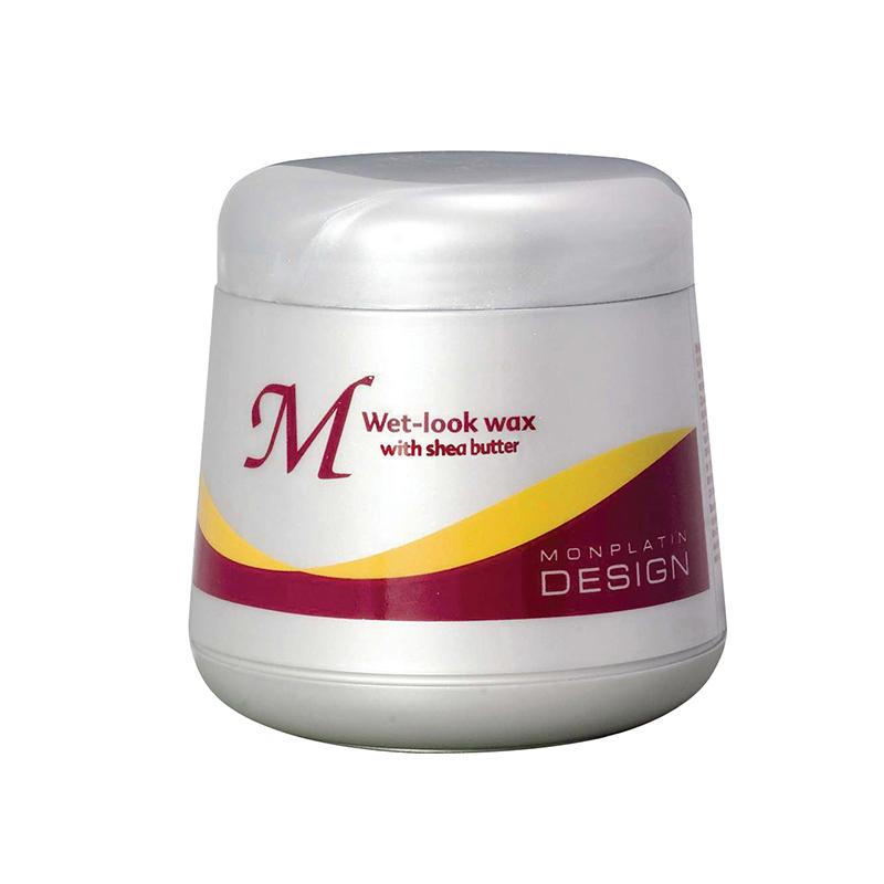 Вакс на основе масел масляного дерева для придания влажного вида волосам
