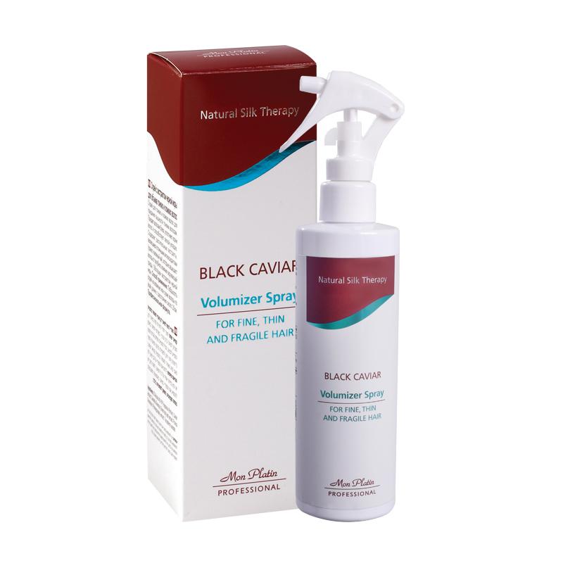 Спрей с экстрактом черной икры для объема тонких и ломких волос