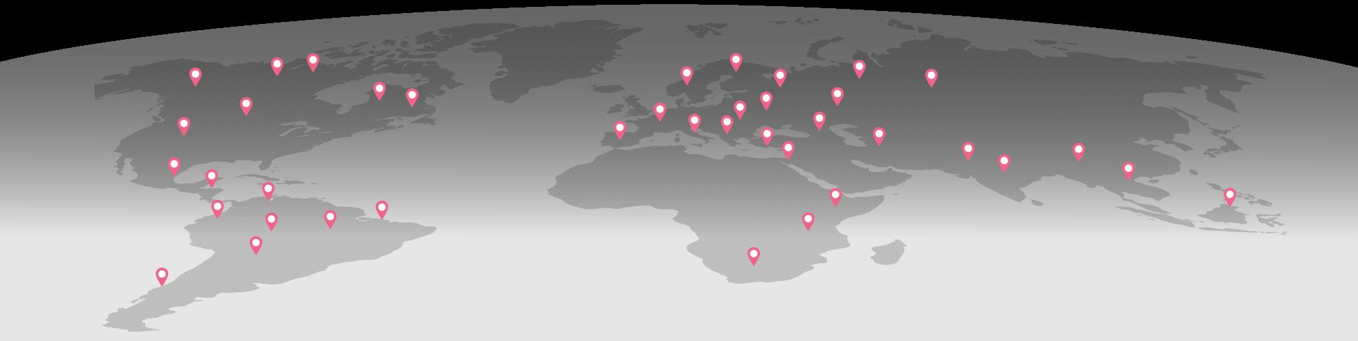 Наши дистрибьюторы во всем мире